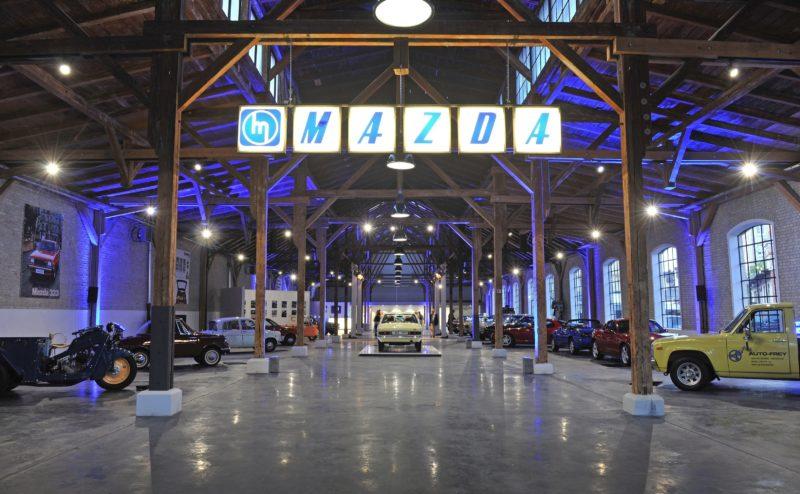 Mazda Museum im alten Eisenbahndepot