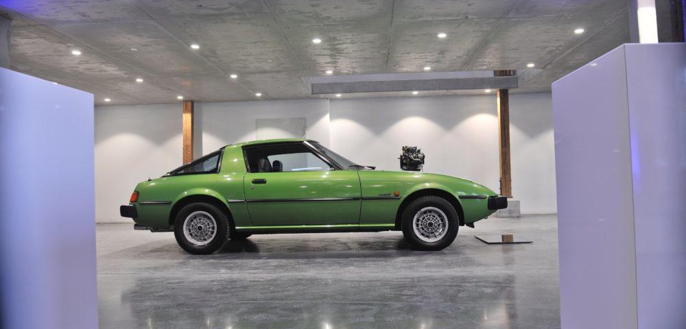 Der legendäre Mazda RX-7 mit Wankelmotor.