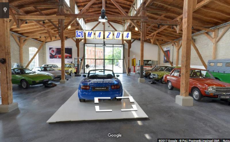 360°-Museumstour – <br/>Virtueller Streifzug durch die Mazda Geschichte