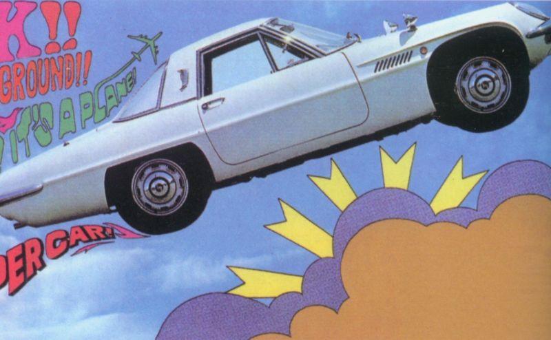 Der Mazda Cosmo Sport ist einer der Sportwagen die Mazda mit Wankelmotor gebaut hat.