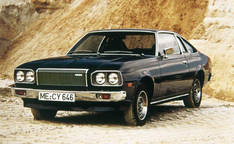 Die Mazda RX Serie hat eine lange Geschichte. Hier ein Mazda RX-5 aus dem Jahr 1975