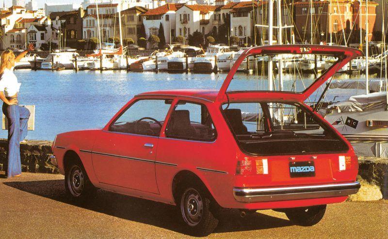 Der Mazda 323 sollte sich nach seiner Einführung im Jahr 1977 zu einem der wichtigsten Modelle für den deutschen Markt entwickeln.