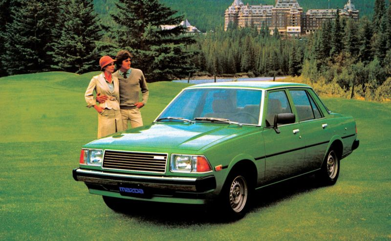 Der Mazda 626 ist der Vorgänger des Mazda 6