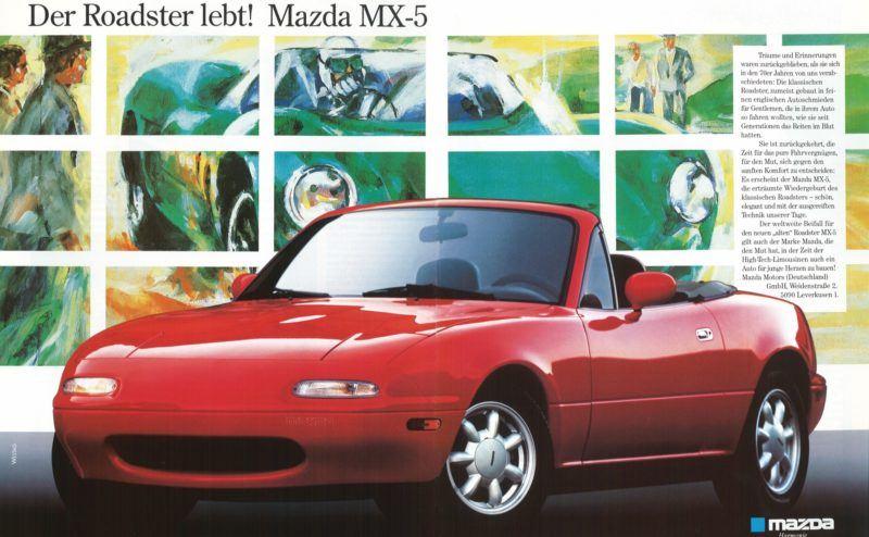 Der Mazda MX-5 ist ebenfalls im Automobilmuseum Frey in Augsburg ausgestellt. Darunter in einer seltenen MX-5 Coupe Variante.