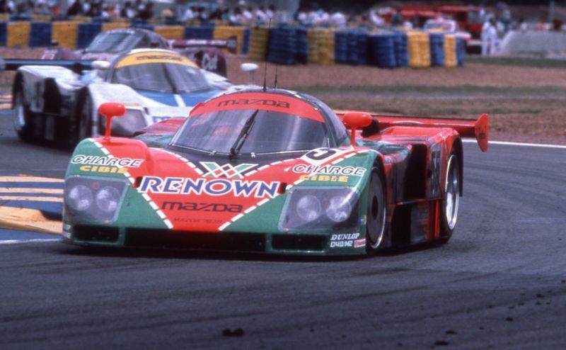 Mazda gewinnt 1991 als einziger japanischer Autohersteller Le Mans. Und zwar mit dem Kreiskolbenrennwagen 787 B
