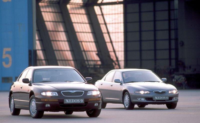 Xedos 9 und Xedos 6 aus dem Jahr 1996