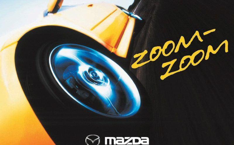 Mit Zoom-Zoom wird Mazda sein Markenimage erneuern. Wer erinnert sich nicht an den Zoom-Zoom-Werbespot?