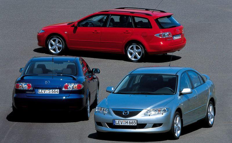 Der Mazda6 löst den Mazda 626 ab, schließt aber an den Erfolg des alten Mazda Modells an.