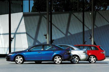 Mazda6, erste Modelle der Zoom-Zoom-Ära