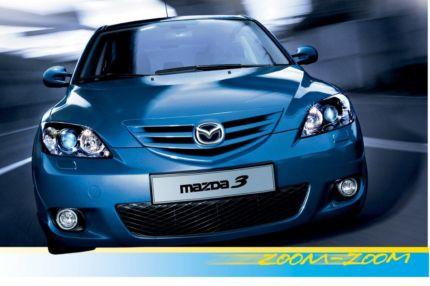 Mazda3, erste Kompaktklasse der Zoom-Zoom-Ära
