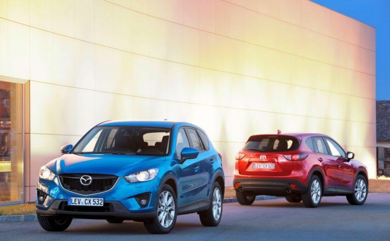Der Mazda CX-5 entwickelte sich zum beliebten Modell für Mazda in Deutschland.