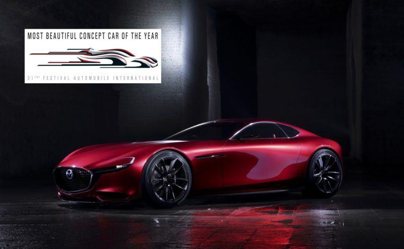 Das Mazda RX-Vision Concept Car zeigt den Weg für einen neunen Mazda Supersportwagen auf.