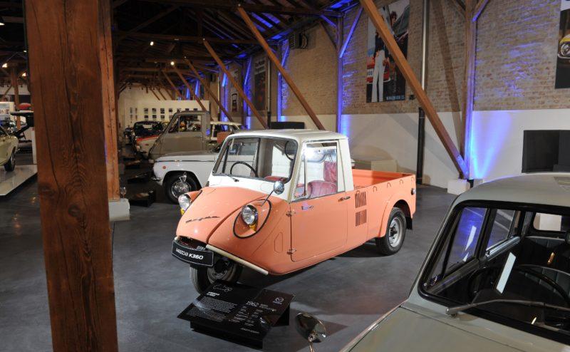 Auch ein Mazda K360 ist Teil der Austellung im Mazda Museum in Augsburg.