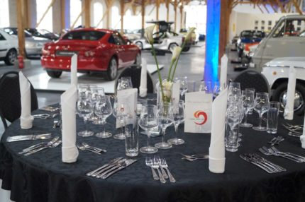 Exklusive Abendveranstaltung im Mazda Museum