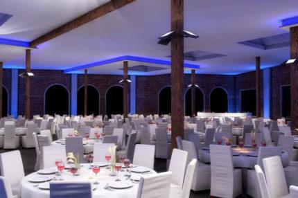 Galadinner in der Eventhalle in Augsburg, Heiraten mit Stil